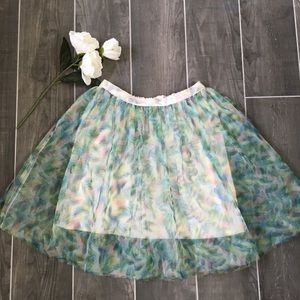 Dreamy LC Lauren Conrad Disney collection skirt